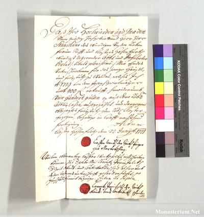 VYBRO 1710 I 18 - 1721 VIII 22