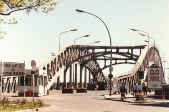 Die Berliner Mauer nach der Grenzöffnung