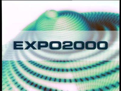 Werbung für die EXPO 2000