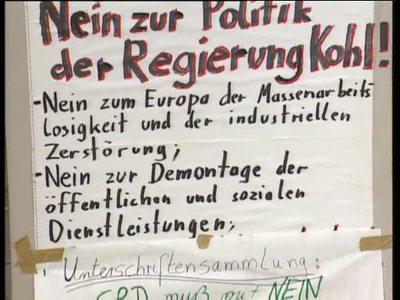Skepsis gegenüber dem Maastricht-Prozess