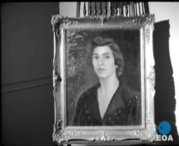 Αποκαλυπτήρια της προτομής της ηρωίδας της Εθνικής Αντίστασης Λέλας Καραγιάννη στην Αθήνα από την Πριγκίπισσα Ειρήνη.