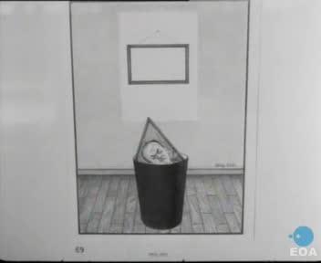 Εγκαίνια της 1ης Παγκόσμιας Έκθεσης Γελοιογραφίας στο Άλσος Κηφισιάς παρουσία του Υπουργού Προεδρίας της Κυβερνήσεως Παναγιώτη Λαμπρία.