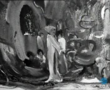 Διεθνής έκθεση ζωγραφικής, γλυπτικής και χαρακτικής στο Πνευματικό Κέντρο του Δήμου Αθηναίων.