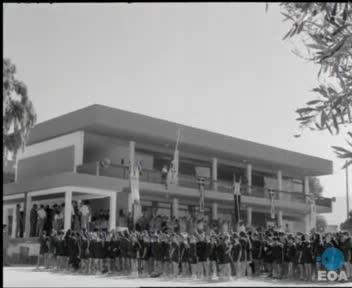 Εγκαίνια νέων σχολικών κτηρίων από τον Υπουργό Εθνικής Παιδείας και Θρησκευμάτων Νικήτα Σιώρη στην Αττική