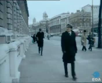 Συνάντηση του Πρωθυπουργού Κωνσταντίνου Καραμανλή με τον Πρωθυπουργό της Μεγάλης Βρετανίας Τζαίημς Κάλλαχαν στο Λονδίνο