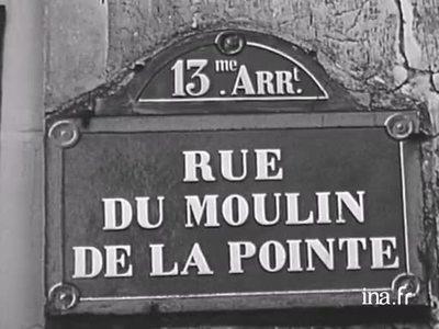 A la découverte des Français: Rue du Moulin de la Pointe