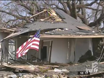 The ravages of cyclone Katrina