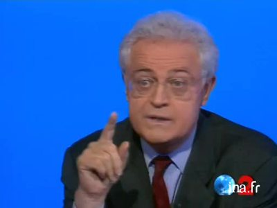 Electoral debate between Lionel Jospin and Jacques Chirac