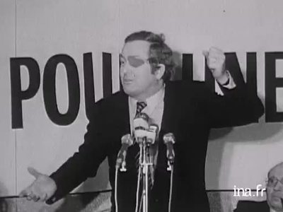 Meeting with Jean-Marie Le Pen in 1974