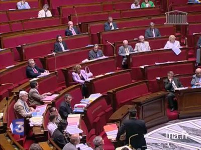Vote by the National Assembly on Sarkozy's immigration bill