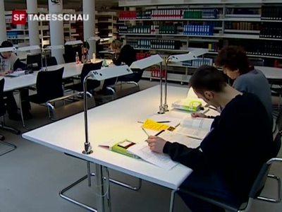 Arbeitsame Studenten