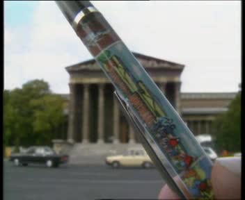 The Collection of the Museum of Fine Arts Budapest is Promoted by Liquid Pens