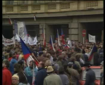 Demonstrations in Prague