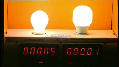 Energiespar-Lampen