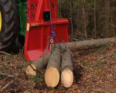 Training für Forstarbeiter WM