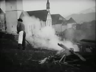 Winter in Südkärnten: Feuerweihe und Böller schießen