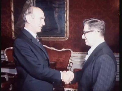 ZIB/ CSSR Ministerpräsident Lubomir Štrougal in Wien