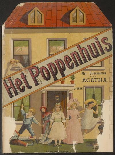 Het poppenhuis: met bijschriften van Agatha
