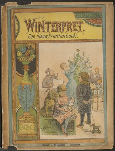 Winterpret: een nieuw prentenboek