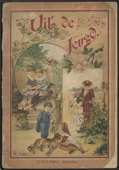 Uit de jeugd: vermakelijk prentenboek met aardige versjes voor de lieve jeugd