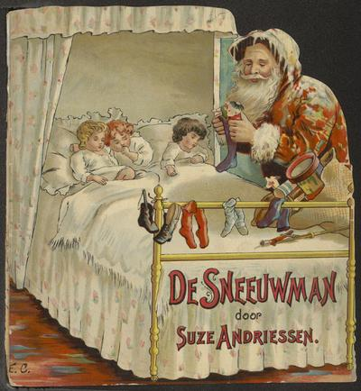 De sneeuwman: door Suze Andriessen