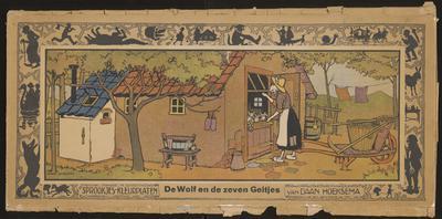 De wolf en de zeven geitjes: van Daan Hoeksema