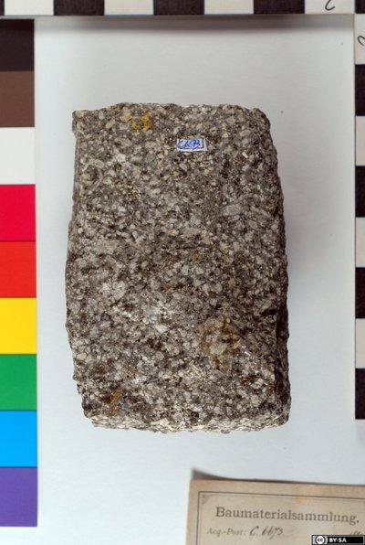 Granitporphyrischer Quarzandesit
