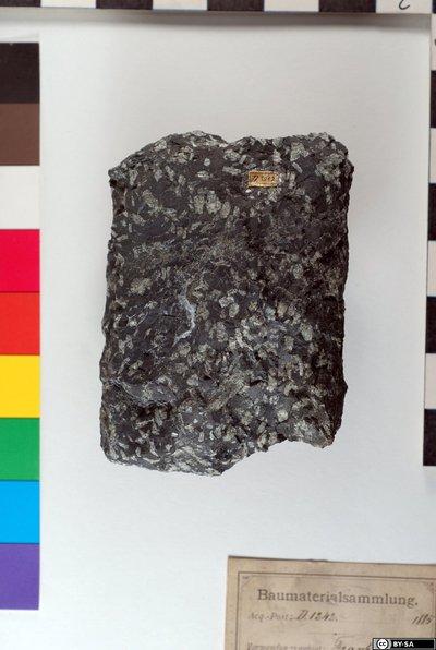 Porphyrit mit Labradorit