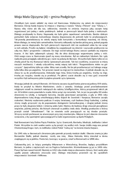 Moja Mała Ojczyzna (4) – gmina Podgórzyn [Dokument elektroniczny]