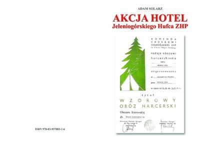 Akcja Hotel Jeleniogórskiego Hufca ZHP [Dokument elektroniczny]