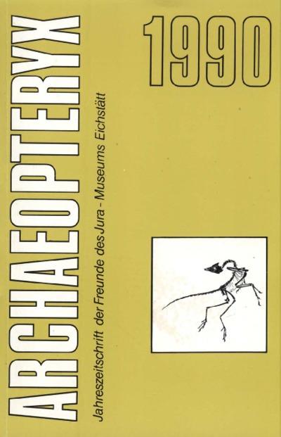 Archaeopteryx_1990_Vergleich von Koprolithen