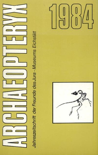 Archaeopteryx_1984_Wasserwirtschaftliche Probleme