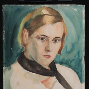 Studium portretowe (portret kobiety)