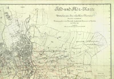 Feld- und Flöz-Karte des Zwickauer Steinkohlen-Reviers