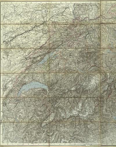 Neue Karte der Schwei