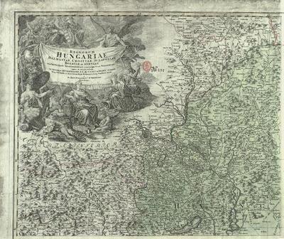 Regnorum Hungariae, Dalmatiae, Croatiae, Sclavoniae, Bosniae et Serviae cum Principatu Transylvaniae, maximáque parte Valachiae nova et exacta tabula