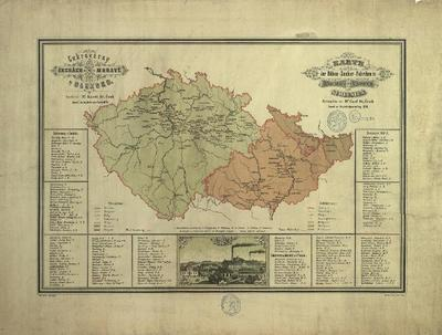 Cukrovárny v Čechách, na Moravě a v Slezsku