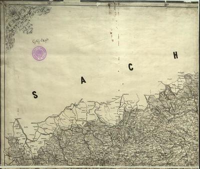 General-Karte des Königreiches Böhmen