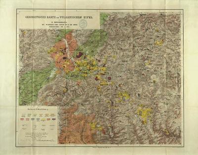 Geognostische Karte der vulkanischen Eifel