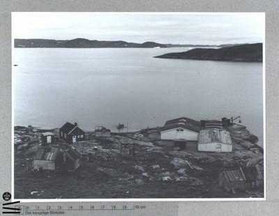 Udsigt over fjorden. Fiskeindustri