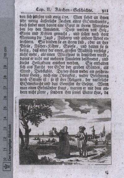 Missionær i Grønland i 1700-tallet