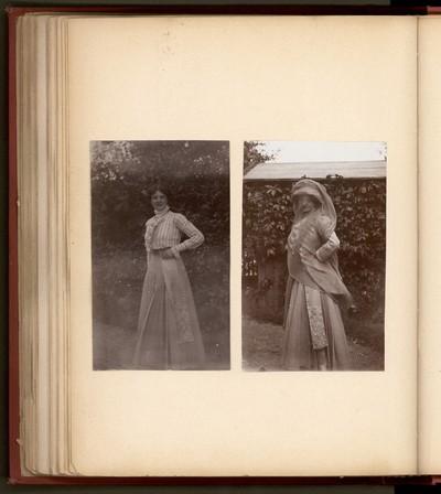 Privatoptagelser med familien Bergsøe,1899-1908