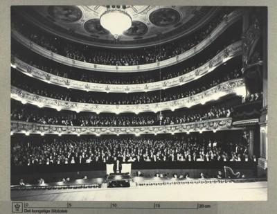 Det Kongelige Teater, Festforestilling for de allierede gæster, 1. juni 1945