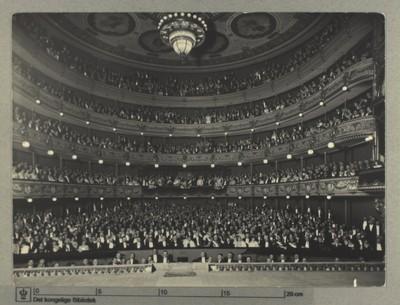 Det Kongelige Teater, Festforestilling 28. april 1923
