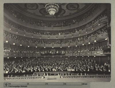 Det Kongelige Teater, Festforestilling i Det kgl. Teater i Anledning af Kong Chr. X og Dr. Alexandrines Sølvbryllup, 1923