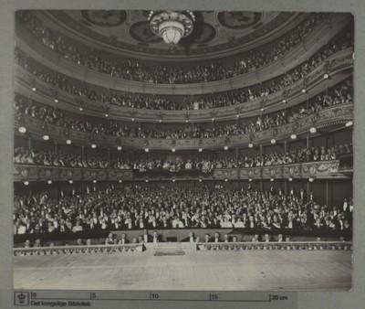Det Kongelige Teater, Festforestilling i anledning af Chr. X's og dronning Alexandrines sølvbryllup, 1923