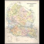 Bács-Bodrog vármegye térképe