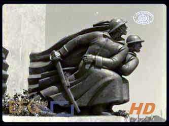 Otkrivanje spomenika palim Šumadincima u Kragujevcu