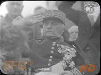 Maršal Franše Depere u Beogradu (1936)