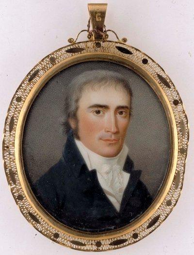 Porträtt av en man